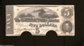 Confederate Notes:1862 Issues, T53 $5 1862. This 2nd Series $5 had an engagement with the ...