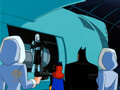 Animation Art:Production Cel, The New Batman Adventures Batman, Batgirl and Mr. Freeze Production Cel Setup with Key Master Background (Warner Broth...