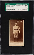Baseball Cards:Singles (Pre-1930), 1887-90 N172 Old Judge Dan Casey (#72-1) SGC 96 Mint 9 - One of Five SGC-Mint Old Judge Cards! ...
