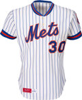 Baseball Collectibles:Uniforms, 1981 Mike Scott Game Worn New York Mets Jersey. ...