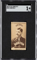 Baseball Cards:Singles (Pre-1930), 1887-90 N172 Old Judge King Kelly (#254-3) SGC Poor 1 - The Only Confirmed SGC Example! ...