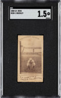 1888 N338-1 S. F. Hess California League Tom Buckley SGC Fair 1.5 - Only Two SGC Examples!