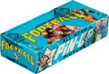 Football Cards:Unopened Packs/Display Boxes, 1968 Topps Football First Series Wax Box with 24 Unopened Packs. ...