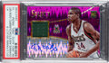 Basketball Cards:Singles (1980-Now), 2013 Panini Select Giannis Antetokounmpo Purple Prizm Rookie Jersey Autograph #1 PSA Gem Mint 10 - Serial Numbered 35/99. ...
