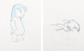 Animation Art:Production Drawing, Lilo & Stitch Drawings Group of 2 (Walt Disney, 2002). ... (Total: 2 )