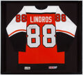 Autographs:Jerseys, Eric Lindros Signed Jersey Display....