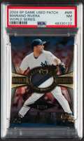 Baseball Cards:Singles (1970-Now), 2004 SP Game Used Patch World Series Mariano Rivera #WSS-MR PSA NM 7 - Serial Numbered 19/50....