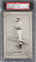 Baseball Cards:Singles (Pre-1930), 1907-09 Novelty Cutlery Nap Lajoie PSA EX 5 - Pop One, None Higher! ...
