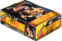 1987 Topps WWF Wrestlemania III Wax Box With 36 Unopened Packs