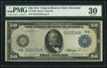 Fr. 1038 $50 1914 Federal Reserve Note PMG Very Fine 30