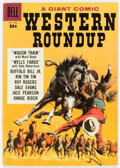 Silver Age (1956-1969):Western, Dell Giant Comics: Western Roundup #24 (Dell, 1958) Condit...