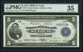 Fr. 796 $5 1918 Federal Reserve Bank Note PMG Choice Very Fine 35