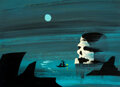 Animation Art:Concept Art, Mary Blair Peter Pan Skull Rock Concept/Color Key Painting (Walt Disney, 1953)....