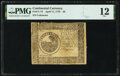 Colonial Notes:Continental Congress Issues, Continental Currency April 11, 1778 $6 PMG Fine 12.. ...