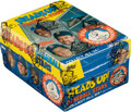 """Baseball Cards:Unopened Packs/Display Boxes, Extremely Rare 1989 Topps Test """"Heads Up!"""" Baseball Box with 24 packs. ..."""