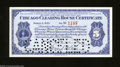 Miscellaneous:Depression Scrip, Chicago, IL- Chicago Clearing House $5 Mar. 8, 1933