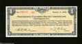 Miscellaneous:Depression Scrip, Providence, RI- Providence Clearing House Certificate $1 ...