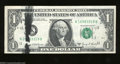 Error Notes:Ink Smears, Fr. 1907-H $1 1969-D Federal Reserve Note. About ...