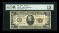Small Size:World War II Emergency Notes, Fr. 2305* $20 1934A Hawaii Federal Reserve Note. PMG Choice Fine 15.. ...