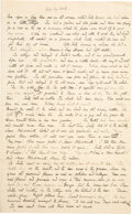 Books:Manuscripts, Beatrix Potter. Original Holograph Manuscript draft for Wag-by-Wall with Archive Relating to the Evolution of Wag-by-Wal...