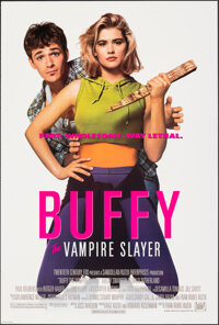 """Buffy the Vampire Slayer (20th Century Fox, 1992). Rolled, Very Fine/Near Mint. One Sheet (27"""" X 40"""") DS. Horr..."""