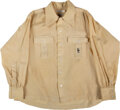Golf Collectibles:Ephemera, 1970's Bing Crosby Worn Golf Shirt Sourced from His Wife. ...