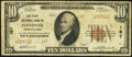 National Bank Notes:Pennsylvania, Hanover, PA - $10 1929 Ty. 2 The First National Bank Ch. # 187 Very Good.. ...