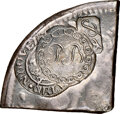 Hard Times Tokens, (1811-15) New Orleans, Louisiana, Planters Bank, HT-A126, R.7, AU58 NGC. Counterstamps on quarter of 8 Reales. Brunk obverse...
