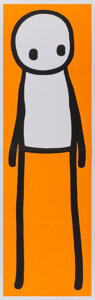 Collectible, Stik (20th century). Stik, 2016. Hardcover book with poster. 10-1/2 x 8-3/4 x 1 inches (26.7 x 22.2 x 2.5 cm) (book). 30...