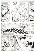 Original Comic Art, Jim Aparo The Brave and the Bold #178 Story Page 8 Original Art (DC, 1981). ...