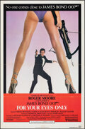 "For Your Eyes Only (United Artists, 1981). Folded, Very Fine. One Sheet (27"" X 41""). James Bond"