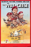 """Movie Posters:War, The Wild Geese & Other Lot (Allied Artists, 1978). Folded, Overall: Very Fine-. One Sheets (7) (27"""" X 41"""") & Uncut Pressbook... (Total: 14 Items)"""