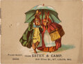 """Books:Children''s Books, Beatrix Potter. American Piracy of her First Children's Book """"A Happy Pair"""" (originally issued by Hildesheimer & Faulkner, L..."""