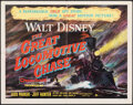 """Movie Posters:Action, The Great Locomotive Chase & Other Lot (Buena Vista, 1956). Folded, Fine+. Half Sheets (2) (22"""" X 28""""). Action.. ... (Total: 2 Items)"""
