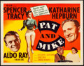 """Movie Posters:Comedy, Pat and Mike (MGM, 1952). Very Fine/Near Mint. Title Lobby Card (11"""" X 14""""). Comedy.. ..."""