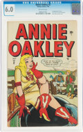 Golden Age (1938-1955):Humor, Annie Oakley #2 (Timely, 1948) CGC FN 6.0 Off-white pages....