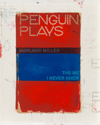 Harland Miller (b. 1964) The Me I Never Knew, 2013 Screenprint in colors on paper 49 x 39 inches