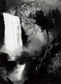 Photographs, Ansel Adams (American, 1902-1984). Vernal Fall, Yosemite National Park, California, 1948. Gelatin silver, printed later ...