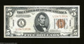 Small Size:World War II Emergency Notes, Fr. 2301 $5 1934 Hawaii Federal Reserve Note. Very Choice ...