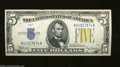 Small Size:World War II Emergency Notes, Fr. 2307 $5 1934-A North Africa Silver Certificate. Gem ...
