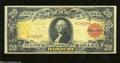 Large Size:Gold Certificates, Fr. 1180 $20 1905 Gold Certificate Very Fine. An explosion ...