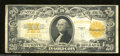 Large Size:Gold Certificates, Fr. 1187 $20 1922 Gold Certificate Good-Very Good. This ...