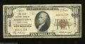 National Bank Notes:Pennsylvania, Masontown, PA - $10 1929 Ty. 1 The First NB Ch. # 5441