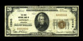 National Bank Notes:Arkansas, Gentry, AR - $20 1929 Ty. 1 The First NB Ch. # 12340. ...