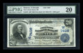 National Bank Notes:Colorado, Denver, CO - $20 1902 Date Back Fr. 642 The United States NB Ch. #7408. ...