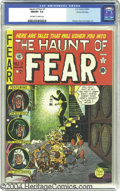 Golden Age (1938-1955):Horror, The Haunt of Fear #7 Gaines File pedigree 2/12 (EC, 1951) CGC NM/MT9.8 Off-white to white pages. If your heart isn't stoppe...