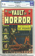 Golden Age (1938-1955):Horror, Vault of Horror #31 Gaines File pedigree 3/12 (EC, 1953). CGC NM+9.6 Off-white to white pages. Ray Bradbury fans, take note...