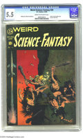 Golden Age (1938-1955):Science Fiction, Weird Science-Fantasy #29 (EC, 1955) CGC FN- 5.5 Cream to off-whitepages. Three words: Frank Frazetta cover. Need we say mo...