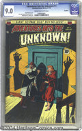 Golden Age (1938-1955):Horror, Adventures Into the Unknown #11 Northford pedigree (ACG, 1950) CGCVF/NM 9.0 Cream to off-white pages. This eerie cover find...