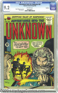 Golden Age (1938-1955):Horror, Adventures Into the Unknown #65 Northford pedigree (ACG, 1955) CGCNM- 9.2 Off-white pages. Ogden Whitney cover and art. Thi...